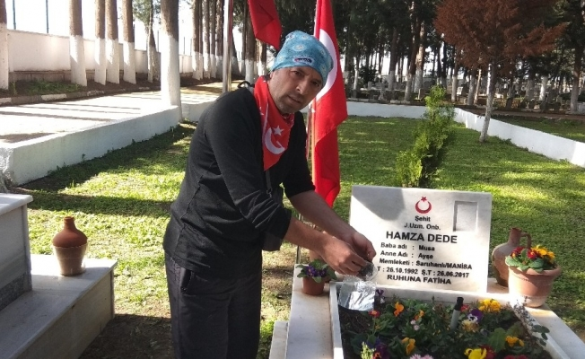 Manisa'nın şehit toprakları Çanakkale'nin zirvelerinde
