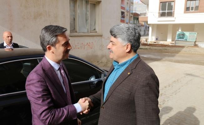 Özel öğrenciler Başkan Şirin'i misafir etti