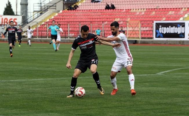 Spor Toto 1. Lig: G.Manisaspor: 0 - Gazişehir Gaziantep: 6