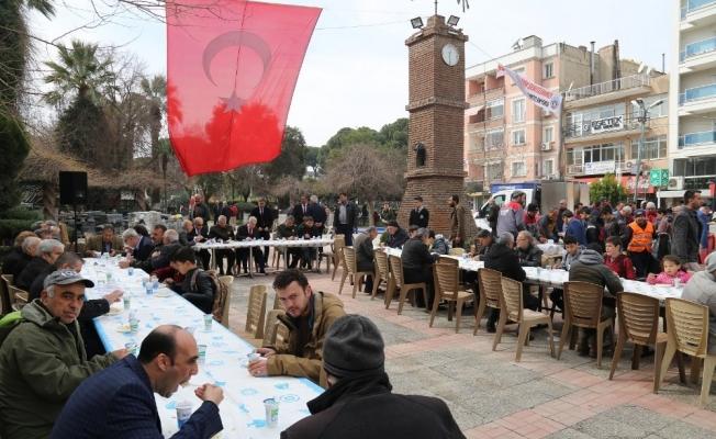 Turgutlu'da şehitler için dua edildi