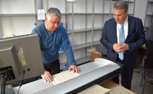 Yunusemre'de 5 milyon evrak dijital ortama aktarıldı