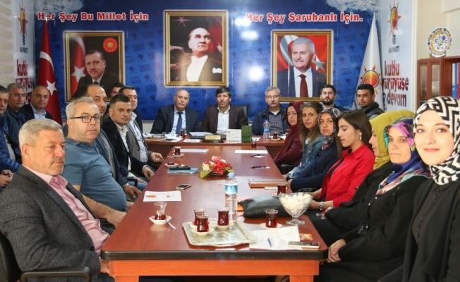 AK Parti Saruhanlı İlçe Teşkilatı seçim çalışmalarına başladı