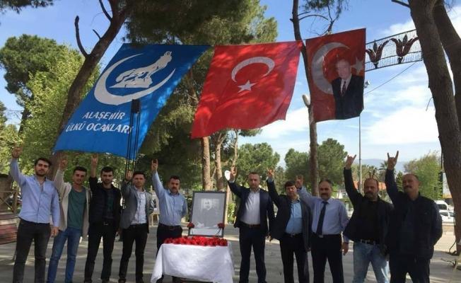 Alparslan Türkeş vefatının 21. yılında Alaşehir'de anıldı