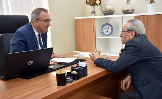 Başkan Karaçoban vatandaşla iç içe