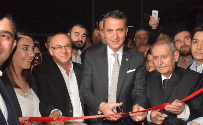 Beşiktaş Başkanı Fikret Orman'ın Akhisar'da dernek binası açtı