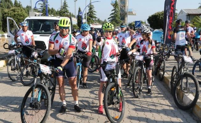Bisiklet tutkunları festivalde buluştu