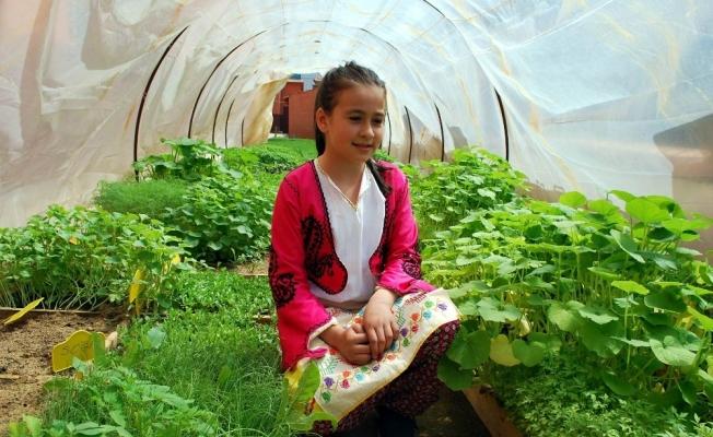 İlkokulda yerli tohum ve fide şenliği