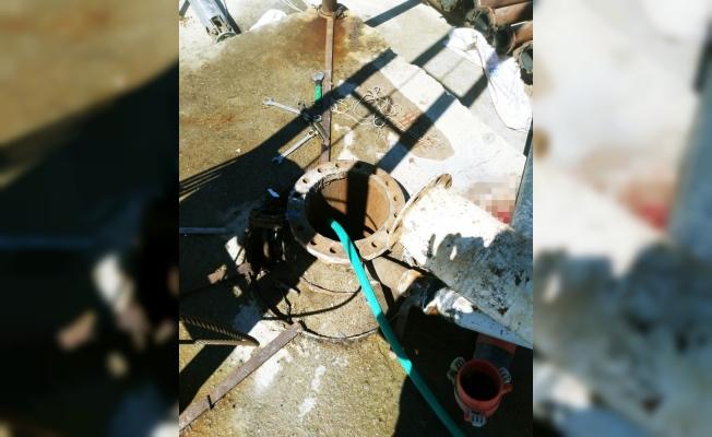 Manisa'da feci iş kazası