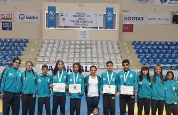 Salihlili judocular Çanakkale'den derecelerle döndü