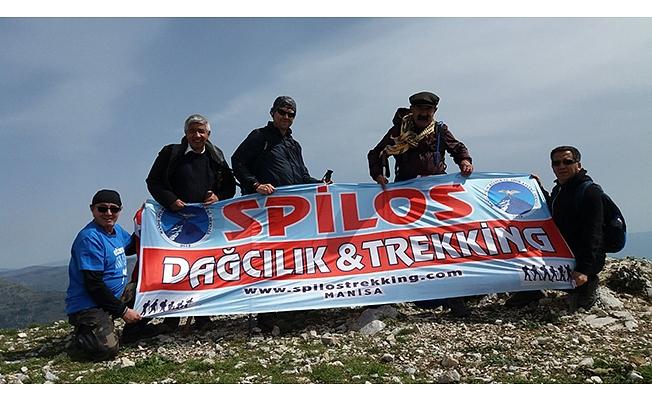 Spilos Mahmutdağı'nda zirve yaptı