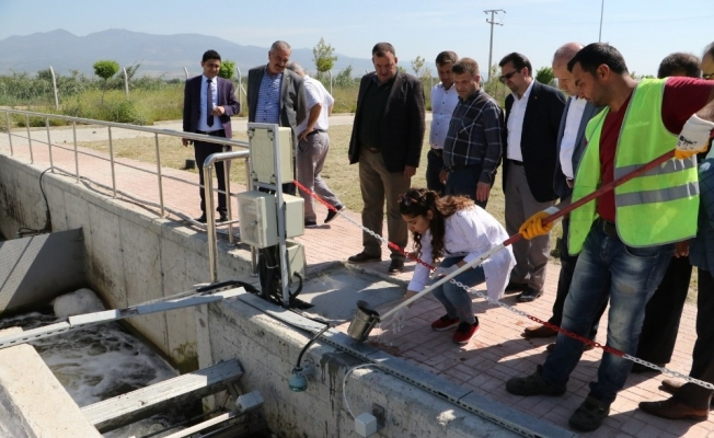 STK temsilcilerinden Turgutlu'daki çevreci tesis için teşekkür