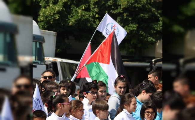 Genç sporculardan Filistin duyarlılığı