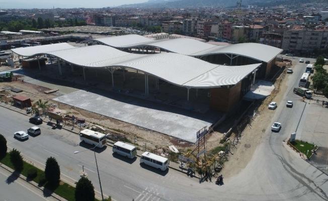 Salihli'nin modern pazar yeri projesi başladı