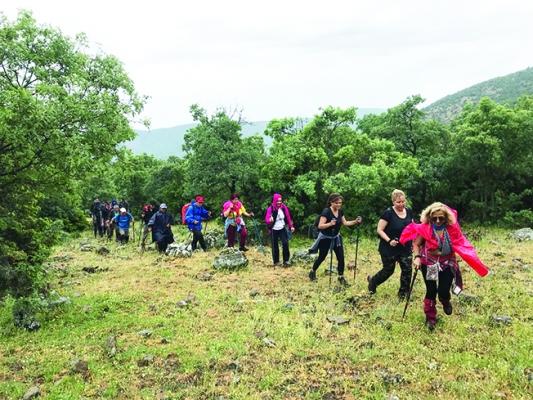 Spilos Dağcıları Tepegöl'e yürüdü