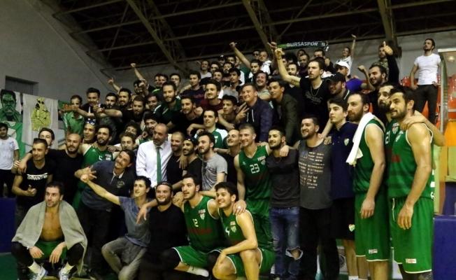 Türkiye Basketbol 1. Ligi play-off: Akhisar Belediye: 69 - Bursaspor Durmazlar: 83