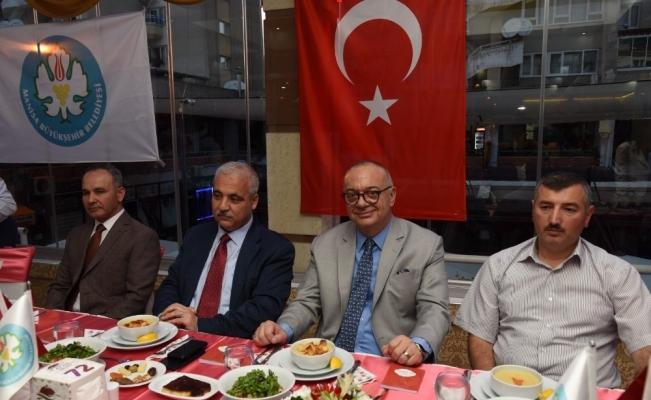 Manisa protokolü Başkan Ergün'ün iftarında buluştu