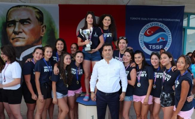 '15 Temmuz Sualtı Ragbisi' şampiyonları belli oldu