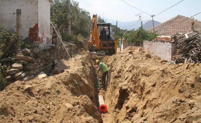 Afşar'da 16 kilometrelik altyapı çalışması