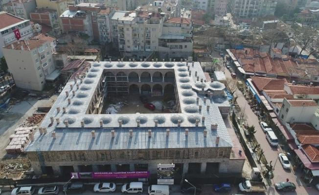 El konulan tarihi FETÖ yurdu Kültür ve Sanat Merkezi olarak hizmet verecek