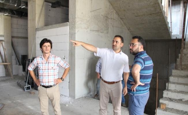 Kula'nın yeni hastanesine yerinde inceleme