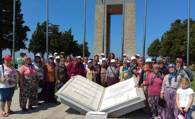 Saruhanlı Belediyesi'nden Çanakkale gezileri