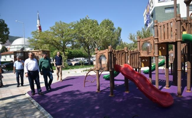 Yunusemre'den Ayn-I Ali'ye yeni park