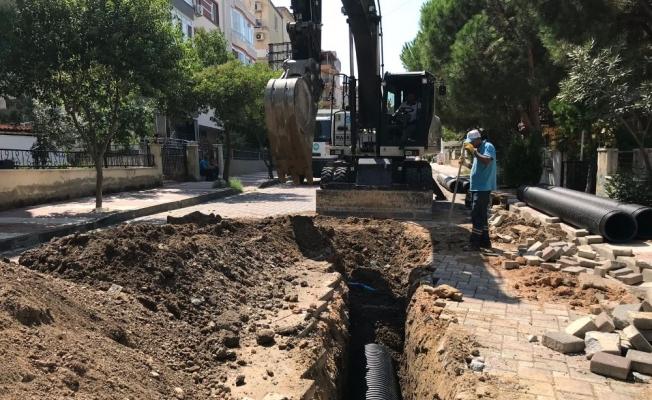 Uncubozköy Mahallesi'ne yağmursuyu hattı