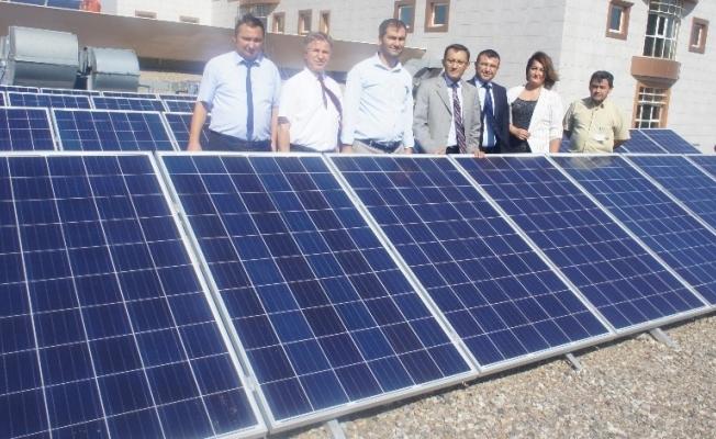 Alaşehir Devlet Hastanesi güneş enerjisiyle aydınlanacak