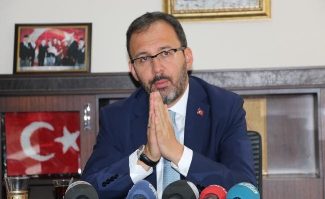 """Bakan Kasapoğlu: """"Baba ocağı, ata ocağı bizim için önemlidir"""""""
