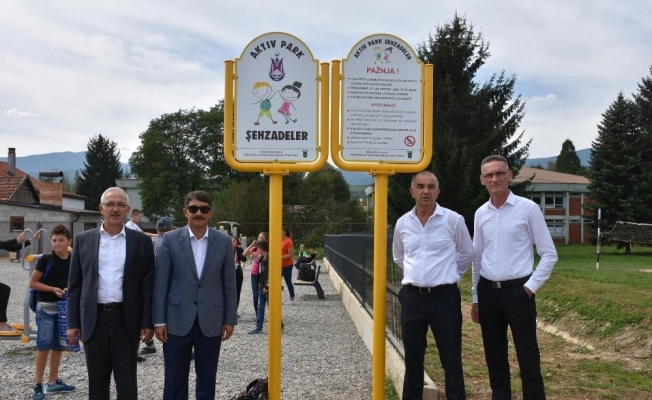 Şehzadeler'den Bosna Hersek'e 'Aktif Çocuk Parkı'