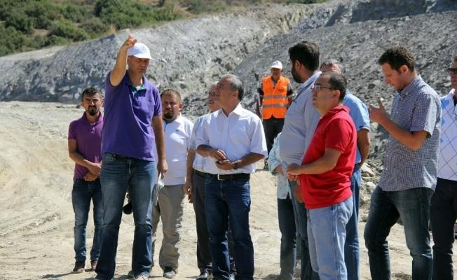 Zeytin diyarı Akhisar'ı sulayacak barajların inşaatları sürüyor