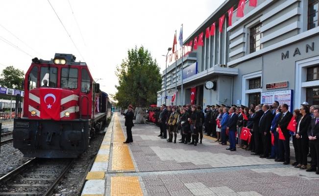 Atatürk'ün Manisa'ya gelişinin 93'üncü yılı kutlandı