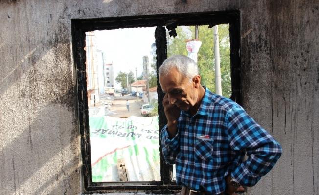 Çatı katı yanan ev sahibinden suç duyurusu