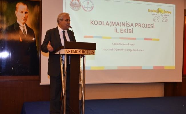 Kodla(Ma)nisa Projesinin içeriği geliştirilecek