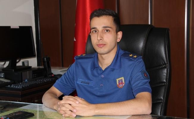 Kula İlçe Jandarma Komutanı göreve başladı