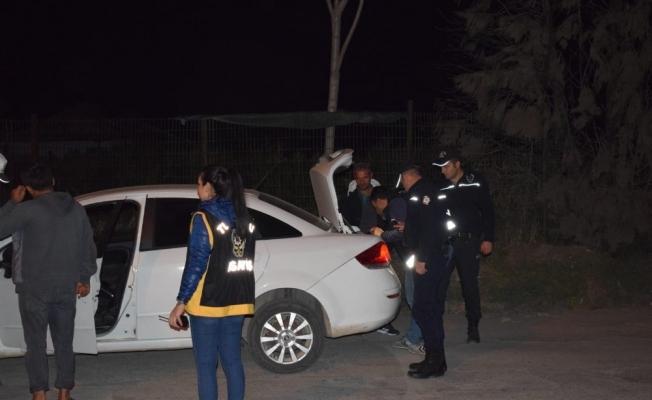Turgutlu'da Özel Harekatlı huzur operasyonu
