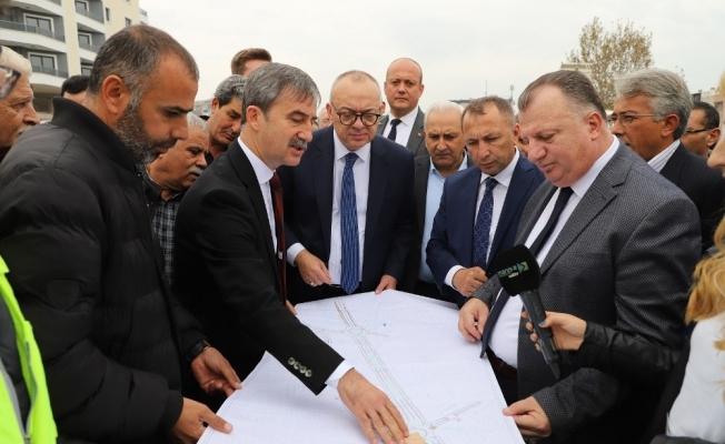 Alparslan Türkeş Kavşağı'nda hedef 31 Aralık