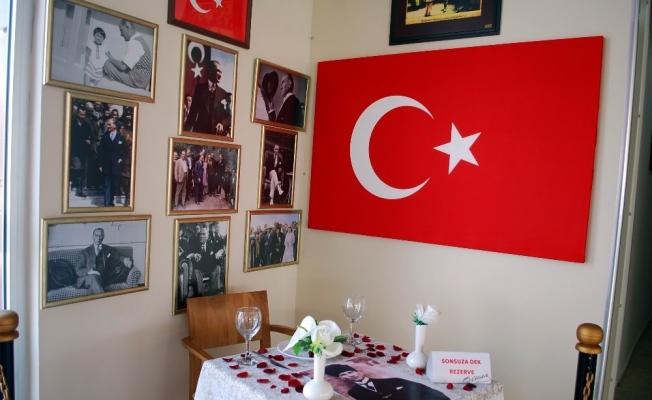 Atatürk için 'sonsuza dek rezerve masası' oluşturuldu