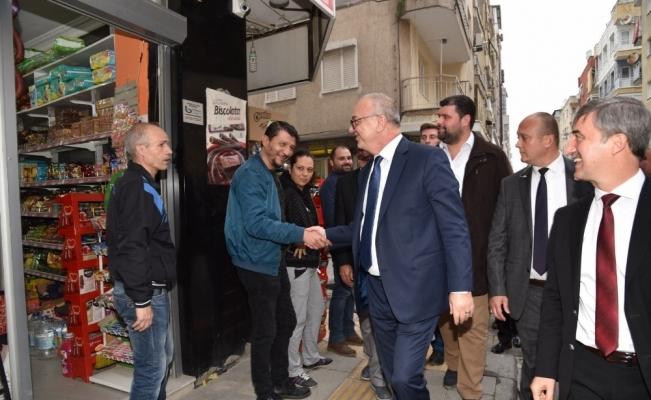 Başkan Ergün'e Turgutlu'da büyük ilgi