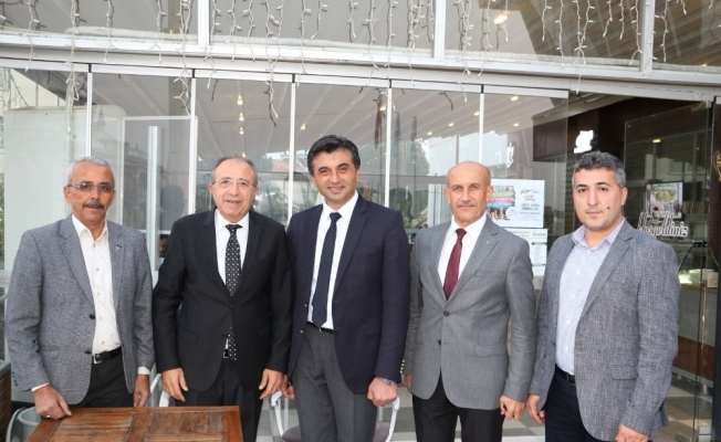Genç, Sarıgöl ve Alaşehir personeliyle buluştu