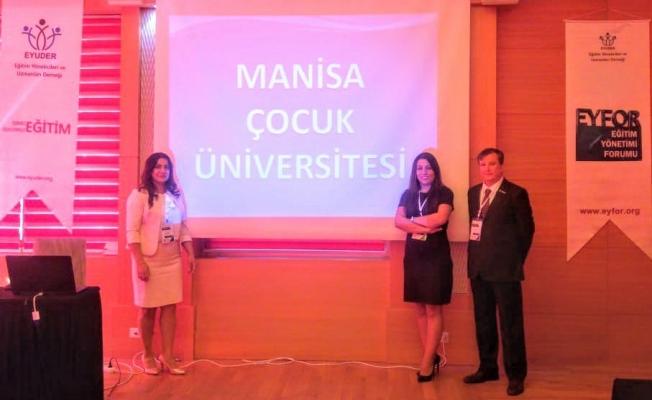 Manisa Çocuk Üniversitesi projesi büyüyerek devam ediyor