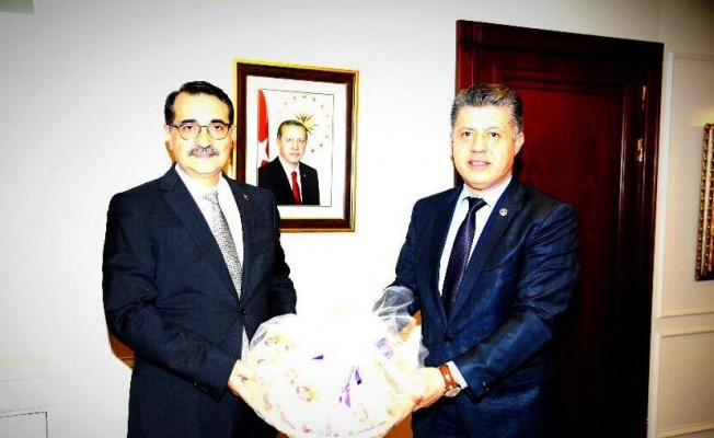 Milletvekili Özkan, Enerji Bakanı Dönmez'i Manisa'ya davet etti
