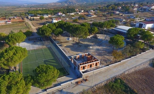 Saruhanlı Belediyesinden Halitpaşa'ya büyük yatırım