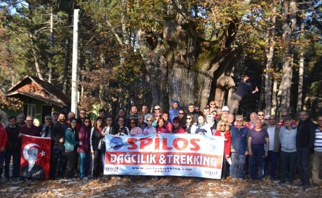 Spilos'tan Ata'ya Saygı Yürüyüşü