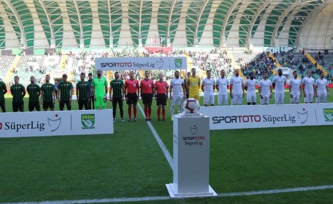 Spor Toto Süper Lig: Akhisarspor: 1 - Büyükşehir Belediye Erzurumspor: 1 (İlk yarı)