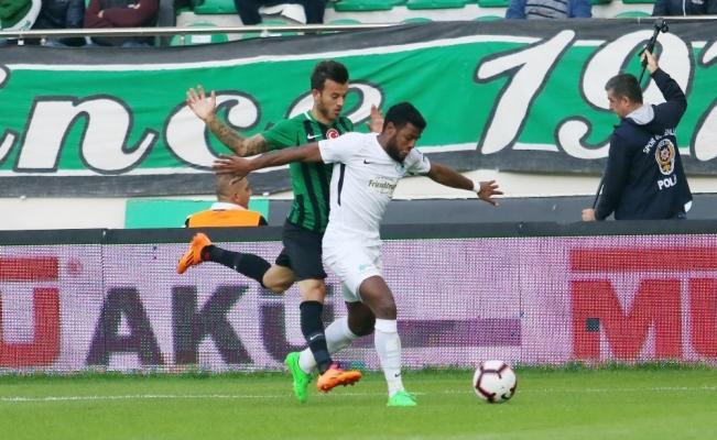 Spor Toto Süper Lig: Akhisarspor: 1 - Büyükşehir Belediye Erzurumspor: 1 (Maç sonucu)