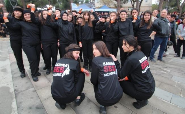 Alaşehir 'Kadına ses' oldu