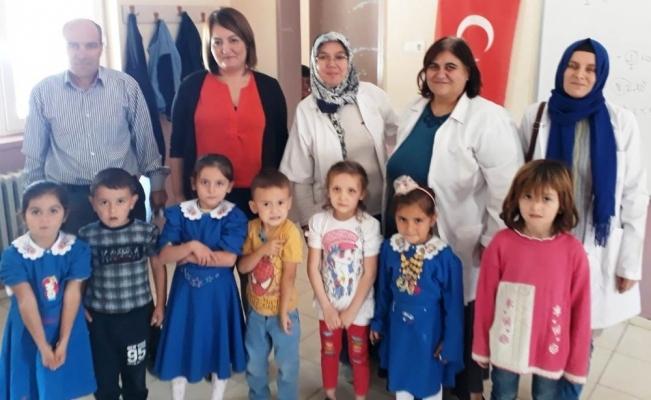 Alaşehir'de 2 bin 987 çocuk aşılandı