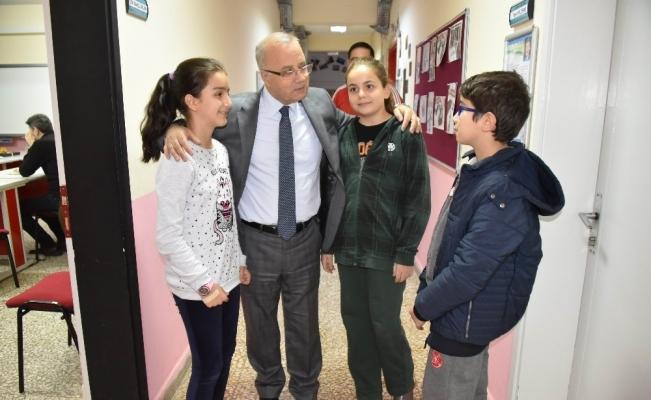 Başkan Kayda'dan özel yetenekli öğrencilere ziyaret