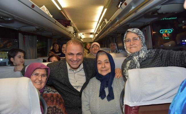 Başkan Uçak Alaşehirli kadınları Ankara'ya uğurladı